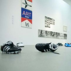 THE FOOTBALL BOOT IN THE MUSEUM
