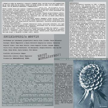 PROGRAM: Enciklopedija mrtvih