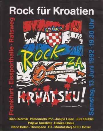 PLAKAT: Rock Fur Kroatien